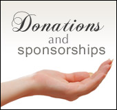 Donations and sponsorships
