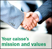 My caisse's mission