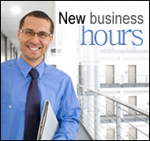 New business hours.