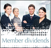 Allocation of member dividends as decided by members at the Annual General  Meeting
