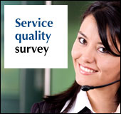 Help us serve you better by taking our phone survey!