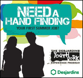 Desjardins youth at work