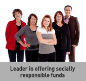 Leader in offering socially responsible funds