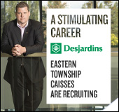 A stimulating career at Desjardins
