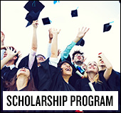 2015 scholarship program: Academic excellence and volunteerism