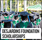 Fondation Desjardins bursaries