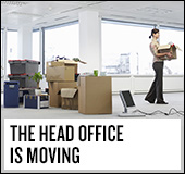 The head office is moving.