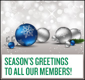 Season's greeting to all our members