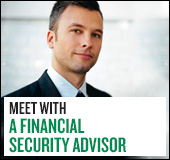 Meet with a financial security advisor
