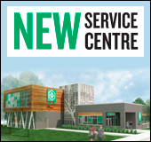 New service centre opening September 28, 2015