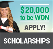 Launch of the 2015 scholarship program: $20,000 to be won