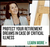 Protect your retirement dreams in case of critical illness