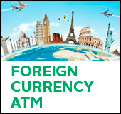 Foreign currency ATM
