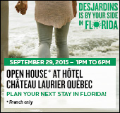 Desjardins by your side in Florida - Open house