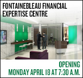 New Fontainebleau financial expertise centre