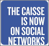 The Caisse is now on social networks